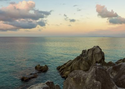 rocky coast mahe seychelles